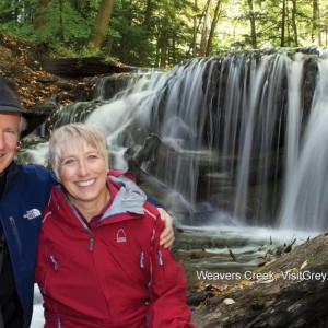 grey county waterfall tour