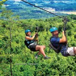 Scenic Caves zip lining