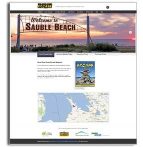 Grey Bruce Escape new website